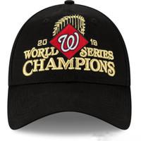 Wholesale free lockers resale online - 2019 Men s Washington Nationals Black World Series Champions Locker Room Knit Hat Sports winter caps Beanie Skullies Snapbacks Hats