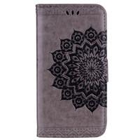 bling stil brieftaschen großhandel-Bling Bling Style Datura Blumenmuster Flip PU Leder Geldbörse Hülle für Xiaomi Redmi Note 4