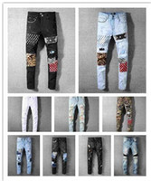 Mens fashion trousers New Style Casual slim zipper stretch pants high quality Jeans Pants Mens Jeans