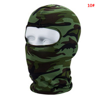 Wholesale face scarf cycling resale online - Windproof Cycling Face Masks Full Face Winter Warmer Balaclavas Fashion Outdoor Bike Sport Scarf Mask Bicycle Snowboard Ski Mask DBC VT1020