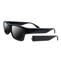 kamera pc video drahtlos großhandel-Smart Brillen Kamera Drahtlose Fernbedienung Brillen Sonnenbrillen Touch Video Recorder HD 1080P Mini DVR Eingebaute 16 GB mit 2 PCS Batterie Arme