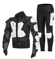 armadura dos cavaleiros venda por atacado-Acessórios da motocicleta roupas de moto / passeio de equipamentos de proteção de roupas de segurança do cavaleiro armadura de esqui ao ar livre esporte armaduras de ciclismo anti-queda