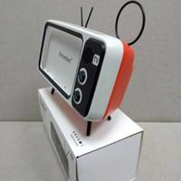 telemóvel iphone venda por atacado-Chegada nova Peterhot PTH800 Tocar Telemóvel e Relógios Computador Speaker Bluetooth Bass TV Speaker Amplificador de Suporte de Telefone Móvel