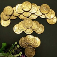 ingrosso commerciano dollari-USA 26PCS completa Set commerciale Dollaro Seated Liberty monete monete Gold Eagle