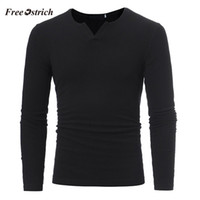 Wholesale computers for sales for sale - Group buy Free Ostrich Men s Slim Sweaters Casual V neck Sweaters For Autumn Winter Men s Athleisure Tops Fashion Blouse Hot Sales