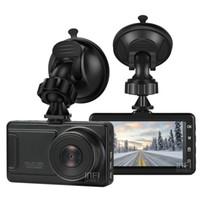 fhd ekranı toptan satış-3 inç Araba DVR 1080P FHD 170 derece görüş açılı Pano Kamera Black Box Ekran Gece Görüş DVR Arka Kamera Hareket