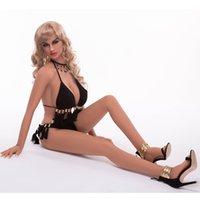 muñecas sexuales de cuerpo completo al por mayor-165cm American sexy lady hot body muñeca de sexo de silicona completa muñeca de sexo femenino de pecho grande realista para hombres