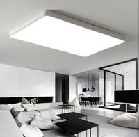 Wholesale warm hall lighting resale online - Modern LED Ceiling Lights for Living room Bedroom Kitchen luminaria LED Ultra thin CM Hall luminaria LED Ceiling Lamp LLFA