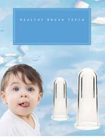 Wholesale Super Soft Silicone Pet Finger Toothbrush Baby Baby Brush Teeth Care Baby Toothbrush Cleaning Supplies A030