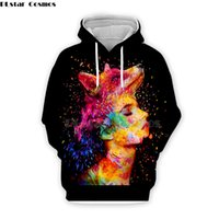 толстовки с длинным рукавом оптовых-colorful  and sexy girl by Alessandro Pautasso Artist Tees 3D Print hoodies/shirt/Sweatshirt Men Women long sleeve streetwear