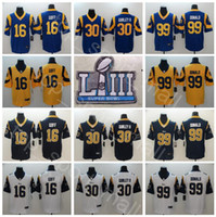 ff7efcff5 Wholesale gurley jersey online - Super Bowl Patch Football Los Angeles Rams  Jared Goff Jersey Men
