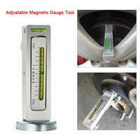 Wholesale gm airbag reset tool resale online - Universal Adjustable Magnetic Gauge Tool Camber Castor Strut Wheel Alignment Truck Car Camber Castor Strut Wheel Alignment Auto