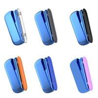 kunststoff-schutzhülsen großhandel-Bunter Plastikfall PC TPU freie Hülsen-schützende Abdeckungs-Haut für E-Zigaretten IQOS 3.0 Vape Mod