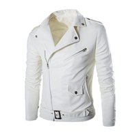 новый мульти-куртка на молнии оптовых-2018 New Fashion  Long Sleeve Men Classic Design Multi-Zippers Biker Jackets Bomber Leather Jackets Punk Coats