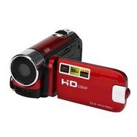 полный hd видеокамеры cmos оптовых-EastVita LCD видеокамера Full HD 1080P портативные видеокамеры 16x зум 12MP домашнего использования цифровой камеры ж/ 2.4