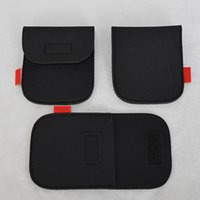 Wholesale protective lens filter for sale - Portable Neoprene Soft Video Filter Lens Pouch Bag Case Camera Protective Bag Black