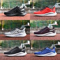 lüks koşu ayakkabıları toptan satış-2019 Hava Zoom Vomero 14 V14 Rahat Ayakkabılar Erkek Moda Lüks Tasarımcı Kadınlar koşu Ayakkabı Sneakers Eğitmenler Atletik boyutu 36-45