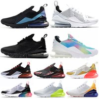ingrosso i puntini neri scarpe le donne-Nike Air Max 270 Shoes airmax Throwback future Uomo donna Triple Nero bianco Be True Teal BARELY ROSE CNY black dot Sport all'aria aperta Mens Sneaker da ginnastica 36-45