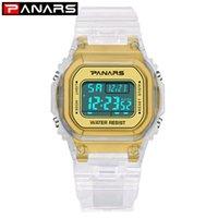 Wholesale wrist watch timer resale online - PANARS Trend Luminous Sport Watch Multi function Men s Waterproof Wrist Watch Fitness Digital Watch Alarm Timer Clock Y200113