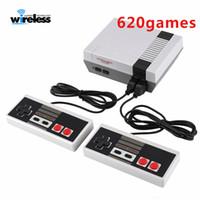 leitor de jogos de vídeo portátil venda por atacado-620 game player Mini TV Handheld Game Console Console de Vídeo Para Nes Games Jogos Clássicos Dual Gamepad Gaming Player