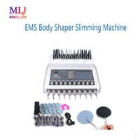 bio máquina elétrica venda por atacado-BIO Máquina de Estimulação Elétrica EquipmentEMS Body Shaper Slimming