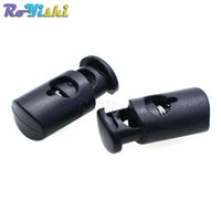 - 10 PACK Black Cylinder Barrel Cordlock Cord Lock Toggles Stopper