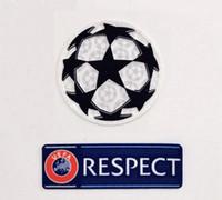 Wholesale champions league patches resale online - Respect and Starball Patch Champions League Patch Soccer Patches Ucl Starball Respect Patch Badges Badge UCL Badge
