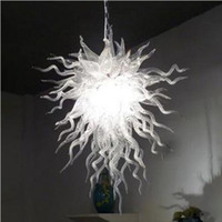 Smaller Size Art Lamps American Pride Chandeliers Hand Made Blown Glass Chandelier Custom Light