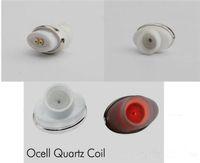 mikrostift großhandel-Qcell Quarz Wachs Spule Ersatzkern Quarz Donut für Wachs Vaporizer Pen Quarz Rod für Airis N1 Vaporizer Elips Cloud Pen Micro Pen