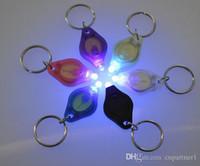 lâmpadas ultrafireiras venda por atacado-Mini Torch Anel Chaveiro Chaveiro Branco Luzes LED, Luzes UV, Lâmpadas LED, ton II Fóton 2 Micro Luz LED Chaveiro Lanterna Mini Luz
