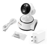 cámaras de seguridad de grabación inalámbrica al por mayor-Cámara de seguridad IP para el hogar Cámara inalámbrica con Wi-Fi inteligente Vigilancia de audio WI-FI Vigilancia del bebé Mini cámara de CCTV HD iCSee