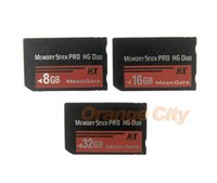 For 8GB 16GB 32GB Memory stick for PSP 1000 2000 3000 Memory Stick MS Pro Duo Memory Card