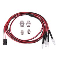 Wholesale hpi cars resale online - Remote Control Toys Parts Accs LED Headlight mm White Red Light RC Car Parts for TRAXXAS HSP HPI REDCAT