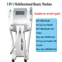 Wholesale ipl e light tattoo removal for sale - E light ipl rf system ipl hair removal laser ipl diode laser hair removal machine price laser tattoo removal beauty device