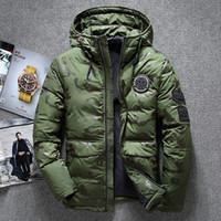 54b99888e7c ... d usine du nouveau canada bas bombardier marque veste parka hommes  masculins courts manteaux d hiver manteau camouflage monclair monler  napapijri