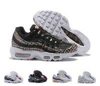 save off 411ae 90f9f 2018 New Fashion Scarpe da corsa Donna Air max 95 Sneakers Stivali da  atletica leggera 95s per le donne sportive da passeggio Misura 36-40