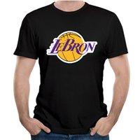 taille de curry achat en gros de-T-shirt en coton Kyrie Irving Stephen Curry pour hommes James Harden LeBron T-shirt à rayures et à rayures James Lakers Plus la taille