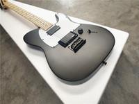 gitarren groihandel-jim root jazzmaster autogramm / 6 string e-gitarre / ahorn hals / sublight schwarz e-gitarre / kostenloser versand
