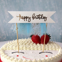 bebek şekilli kek toptan satış-Sevimli Tül Püskül Unicorn Şekilli Kek Topper Düğün çocuk Doğum Günü Partisi Bebek Kek Dekorasyon Malzemeleri PPA376