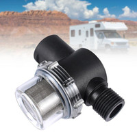Wholesale water pumps irrigation resale online - Touring Car Pipeline Garden Mesh Strainer Easy Install High Flow Fittings RV Water Pump Filter Irrigation Connector inch