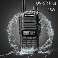 2020 Baofeng UV-9R plus 15w Waterproof Walkie Talkie High Power CB Ham 20KM Long Range UV9R portable Two Way Radio for hunting