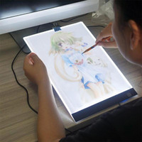 stylus stift usb großhandel-Digitale Tabletts Memo A4 LED Zeichnung Tablet Board Elektronische Grafikkarten für Kinder Erwachsene Tragbare Tablet Pad