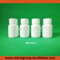Wholesale pill bottles resale online - Fedex g ml cc plastic pharmaceutical bottles Round PE pills bottle white plastic medicine pill bottle