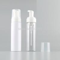пластиковые бутылки с мылом для рук оптовых-200ML G Plastic Soap Foaming Pump Bottles Refillable Shampoo Cosmetic Liquid Foam Dispenser Containers Hand Wash Facial Cleanser