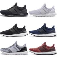 Cheap Ultra Boost 3.0 Oreo Royal Blue Multicolor Primeknit Shoes Men Women  UltraBoost UB Triple Black White Navy Casual Sneakers 49228a843