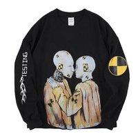 camisolas rochosas venda por atacado-Asap Rocky Ferido Tour Merch Moletons Homens Mulheres Melhor Qualidade Mens Hoodie Com Capuz
