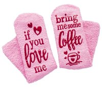 Wholesale beer socks for sale - Group buy Cake Socks Letter IF YOU CAN READ THIS Bring Me a Glass of Wine Beer Socks Winter Sock Christmas Stocking GGA2673