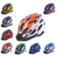 Wholesale yellow mountain helmet for sale - Group buy 2019 New Ultra light Safety Sports Bike Helmet Road Bicycle Helmet Mountain Bike MTB Racing Cycling Hole Drop ship