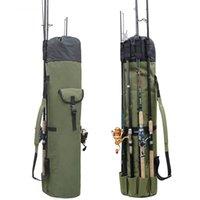 Outdoor Portable Multifunction Nylon Fish Bags Fishing Rod Bag Case Fishing Tackle Tools Storage Bag