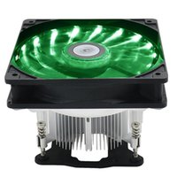 ingrosso raffreddamento cpu cpu-HOT 12cm LED Silent Laptop Computer CPU Ventola di raffreddamento Radiatore di raffreddamento per LGA 1156